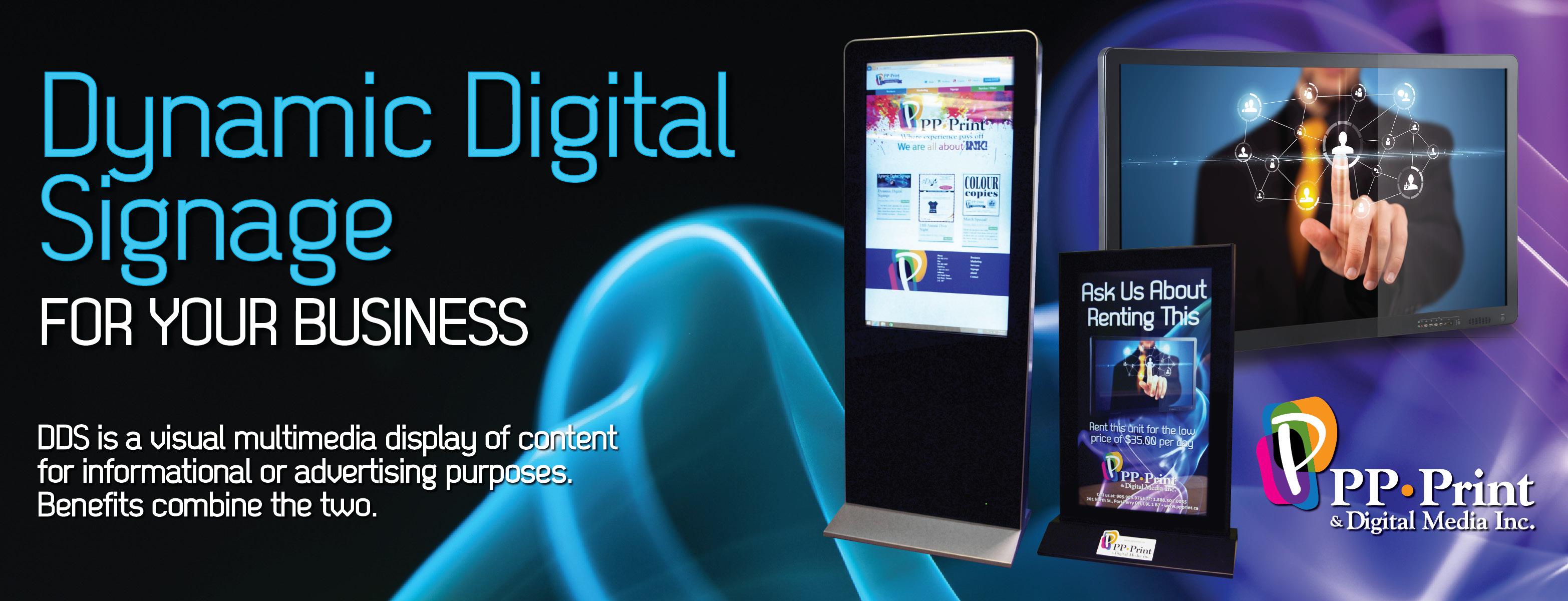 Dynamic Digital Displays