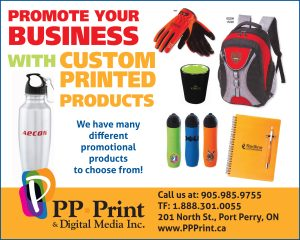Promote your business with custom printed products